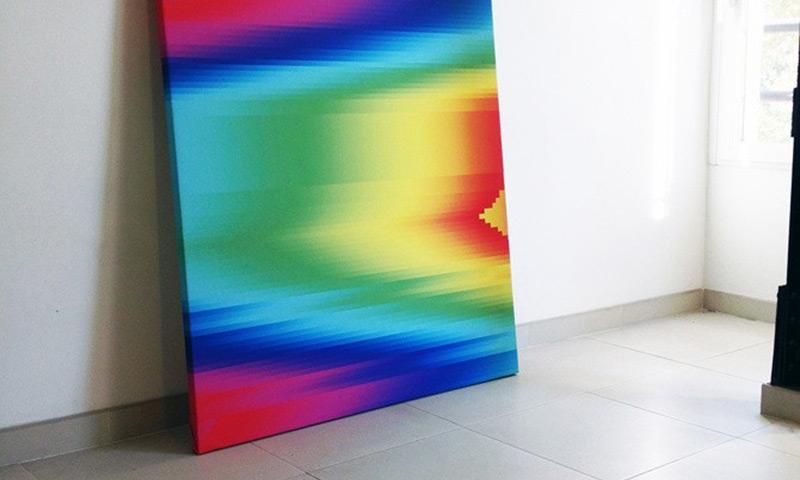 3 Dimentional Surface #1: Manuel Fernández