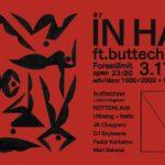ロシアのシーンのキーパーソンbuttechnoが再来日。エレクトロニックミュージック・コレクティブIN HAによるイベントが3/17に開催。
