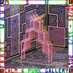 アートコレクティヴMSHRの新作インスタレーション『Frame Wave』が、西麻布・CALM & PUNK GALLERYにて発表