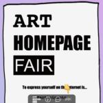 IDPWが主催する「ホームページ」を展示するオンラインフェア、「ART HOMEPAGE FAIR」が開催。